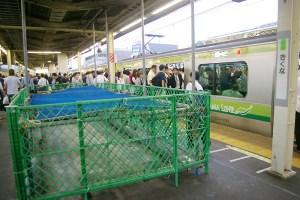 菊名駅の東急改札横とJRホーム売店が相次ぎ閉鎖、改良工事の進展で