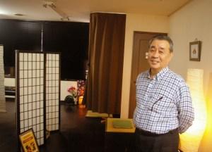 日吉との縁は60年、慶應出身の経営者が「和」の文化を発信するサロン「和ごころ」とは