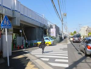 東急高架下くぐる箕輪町の「日吉第1架道橋」を11/1(火)廃止、相鉄直通線の影響で