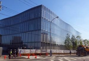 米アップルCEOが安倍首相に12月完成伝える、綱島SST・研究所の現状レポ