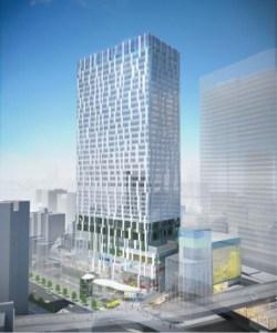 地上の東横線・渋谷駅は跡形もなく、2年後に35階建て「クリエイターの聖地」ビル