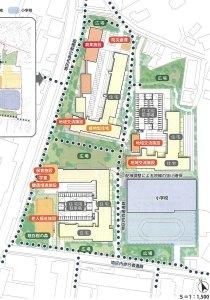 <市教委>箕輪町に2020年開校の新小学校で説明会、日吉台や綱島東小などの保護者に