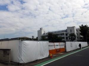 大綱小に近い大豆戸町で野村不動産が40戸マンション、2018年4月に完成予定