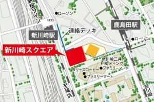 新川崎駅と鹿島田駅が直結、両駅つなぐ歩行者用通路は11/15(火)に全通