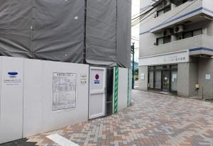 <元住吉駅前>「オズ」「ブレーメン」の2商店街内で4つのビル建設が進行中