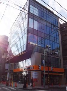 <綱島駅西口>横浜銀行隣の新築ビル、3~5階はネットカフェ「快活CLUB」に
