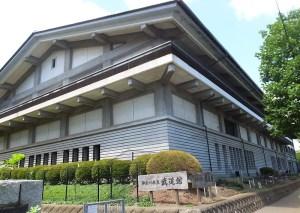 岸根の「県立武道館」、2017年1月から3月の中級弓道と合気道の受講者を募集
