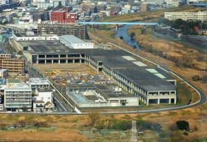 北新横浜駅近くの「新羽車両基地」内にスポーツ施設やレストラン、2018年4月オープン