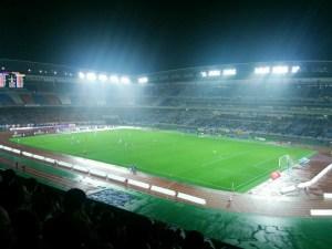 日産スタジアムの照明改修で明るさUPへ、ラグビーW杯を見据え横浜市が発注