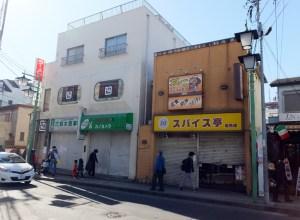 菊名駅東口のカレー店「スパイス亭」閉店、丸天ラーメンのビルと一体開発か
