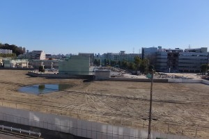 アピタ日吉店跡の再開発「箕輪町計画」でパネル展示など行うオープンハウス