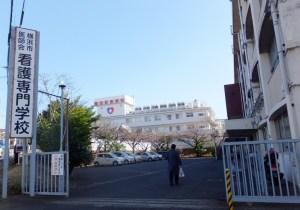菊名4丁目の「看護専門学校」、鶴見移転を控え菊名校舎で学ぶ最後の1年に