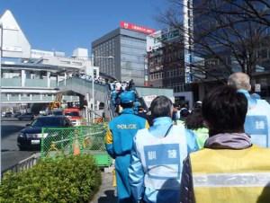 新横浜駅周辺で恒例「帰宅困難者」の対策訓練、3/3(金)10時30分から