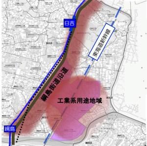 綱島街道沿いのまちづくり方針に意見、道路改善や中学校新設を求める声が相次ぐ