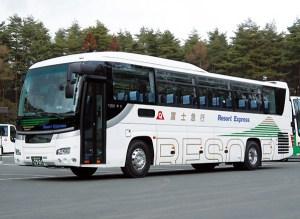 御殿場アウトレットへの高速バス、3/10(金)から日吉駅に1日1往復が乗り入れ