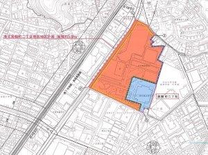 箕輪町の再開発で市が素案、「公聴会」での意見表明は3/29(水)までに提出必要