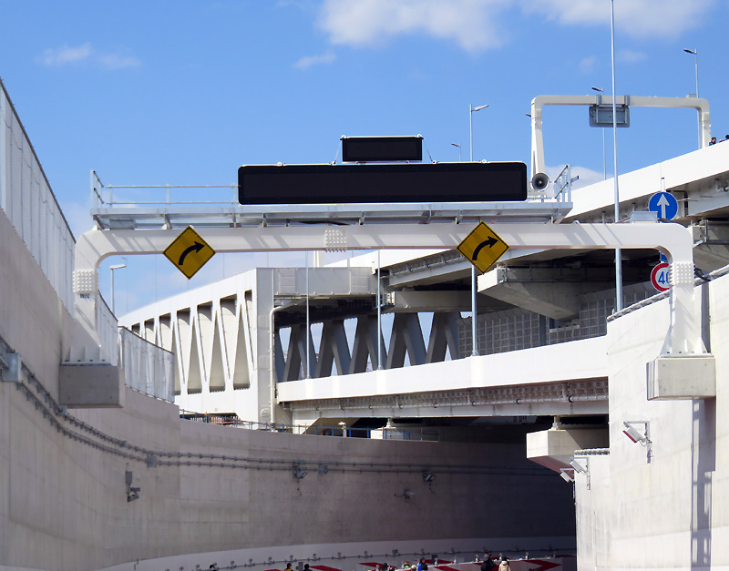 高速「きたせん」が3/18(土)開通、綱島街道近くの馬場出入口は工事中