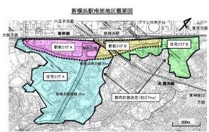 "篠原口側の""新横浜駅南部地区""、2017年度は再開発事業の「準備組合」設立目指す"