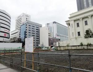 <新横浜3丁目>環状2号近くでビル2棟の新築計画、寄宿舎やフィットネスに活用か
