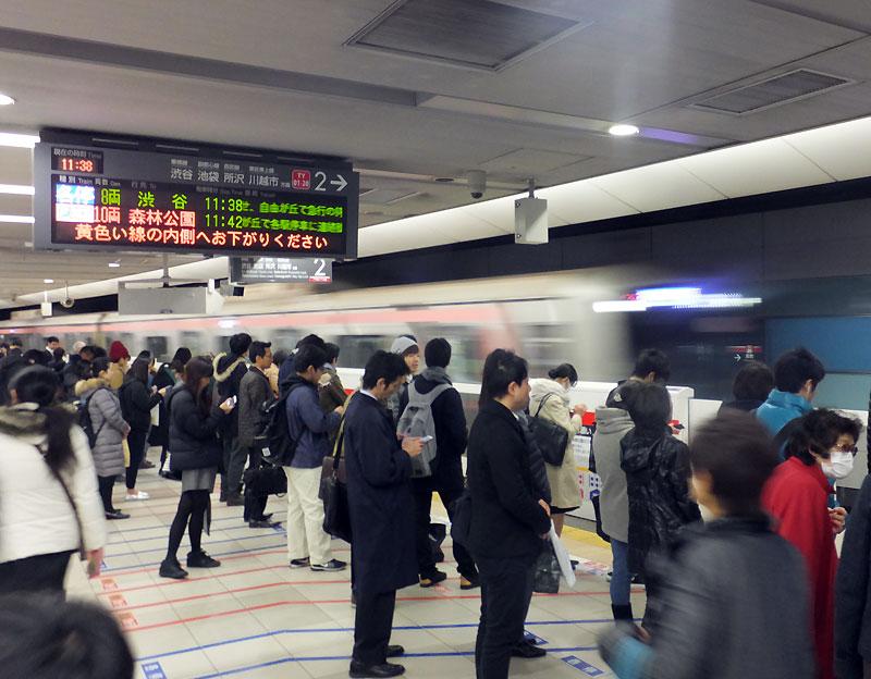 <東横線>横浜駅での乗り換え客は京急へ、乗ってくるのは相鉄からがトップ