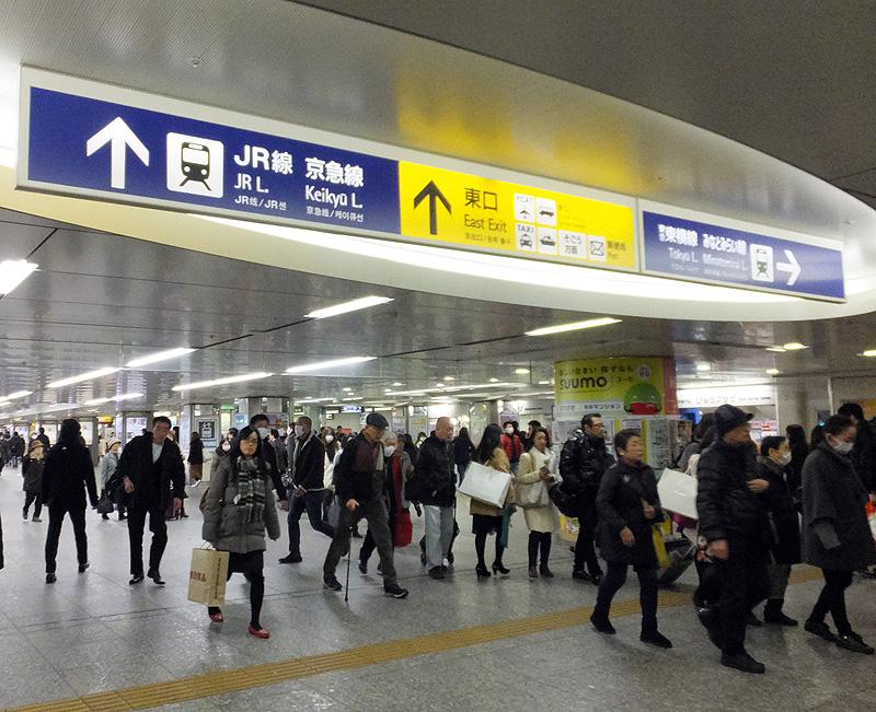 横浜駅で「東横線」や「ブルーライン」に乗ってくるのは相鉄線の客がトップ