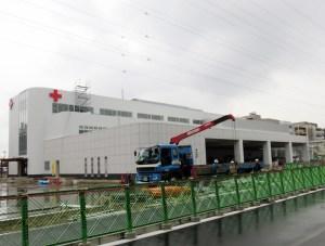 港北警察署隣に日本赤十字社の大型「血液センター」、7月から県の重要拠点に