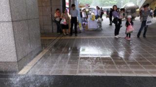 首都圏でなぜか日吉・綱島エリアだけ「集中豪雨」に見舞われる、雷とひょうも