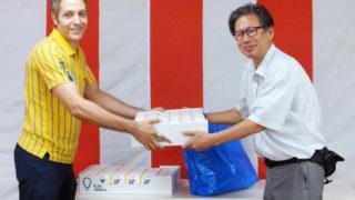 イケア港北が日吉の市営住宅へLED電球を贈呈、環境に優しい社会へ尽力