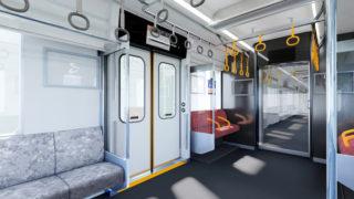相鉄が東急乗り入れ用の新型車を発表、全車両でWi-Fi提供や天井に案内画面