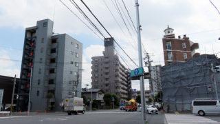 綱島街道「焼肉交差点」の痕跡が消える、最後の2軒建物は更地化・解体中
