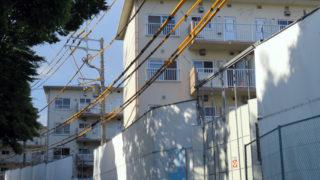 日吉駅近くの慶應留学生寮「インターナショナルハウス」解体、築60年の元社宅