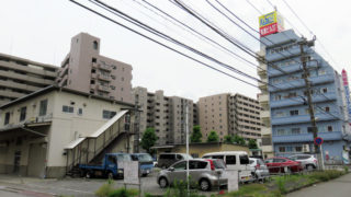 又口橋に近い新横浜1丁目、駐車場など使い10階建てマンション2棟を計画
