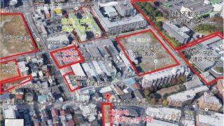 """箕輪町2丁目で相次ぐ工場跡地の転換、一戸建て11戸を""""オープンハウス""""が計画"""