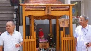 100年以上前から綱島を見守る「日限地蔵」、住民パワーで祠(ほこら)を新調