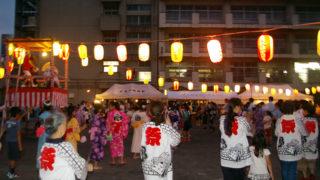 大豆戸小での2017年「盆踊り大会」は7/27(木)、18時30分から21時まで