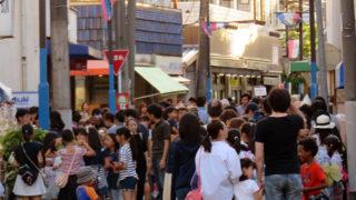 初秋の夕涼みに、南日吉商店街で恒例の「夜店」は今週末9/2(土)17時から