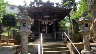 菊名西口の大豆戸町「八杉神社」で9/2(土)に例大祭、昼には子ども向け企画も