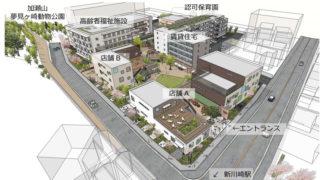 <JR社宅跡の再開発>2018年春に「コトニアガーデン新川崎」、60戸賃貸やスーパーも