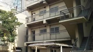 日吉中央通り「重田酒店」裏で建て替え、来年10月までに5階建てオフィスビルに