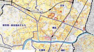 日吉と綱島の「持ち家」世帯は区内最下位の4割台前半、高田は平均上回る56%