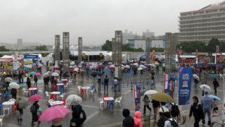 <新横浜パフォーマンス>台風接近で10/22(日)はすべてのイベントを「中止」