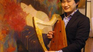 珍しい「アイリッシュ・ハープ」の音色を披露、12/15(金)にクリスマスコンサート