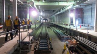 <相鉄直通線>羽沢横浜国大駅の建設は順調、JR側の次駅は「武蔵小杉」か