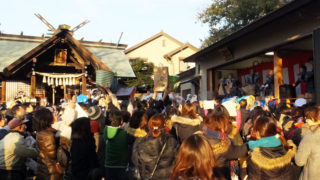 """あす2/3(土)16時から日吉神社で恒例の""""豆まき""""、今年は土曜日開催に"""