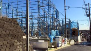 マンションだけではない日吉の建設ラッシュ、日吉本町6で相次ぐ一戸建て計画