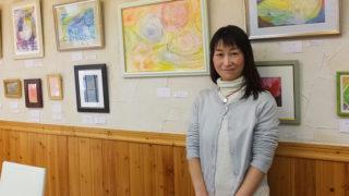 癒しの空間生み出す「ふたり」が初の絵画展、綱島西口で3/19(月)まで