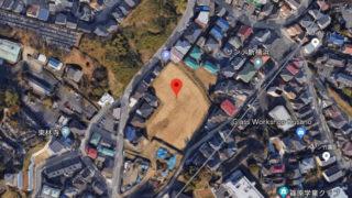 市が篠原町内に持つ2600平米の「再開発用地」、スポーツ推進へ暫定開放なるか