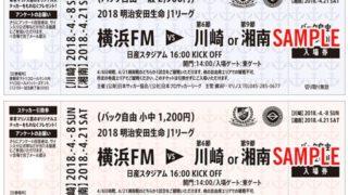 <地下鉄新横浜駅>日産の開幕戦も入場できる「神奈川ダービー応援チケット」発売